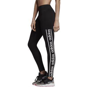 adidas Leggings Damen schwarz, Farbe:Grau, Damen Größen:M