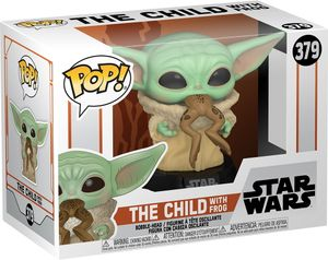 Funko POP! Star Wars The Mandalorian #379: 'The Child with Frog'