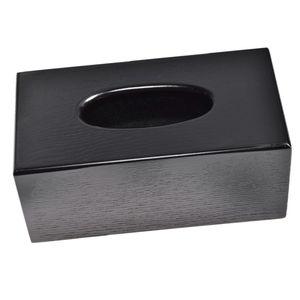 Kosmetikbox Kosmetiktücherbox Taschentuchbox Tücherbox Kosmetiktuchspender wie beschrieben Schwarzes Rechteck
