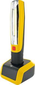 SCHWAIGER -FL1100 531- Notfall Lampe mit Ladestation, Schwarz/Gelb