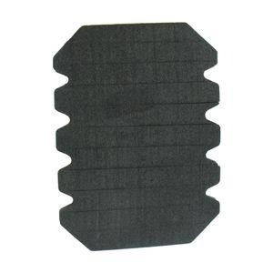 Kniepolster schwarz, für Arbeitshosen / Stück