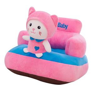 Niedliche Sitzsackhülle Sitzsack Sitzkissen Sitzsäcke für Kinderzimmer Wohnzimmer Kitty 45x50 cm