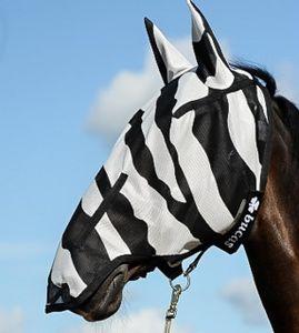 Bucas Fliegenmaske Zebra Full Face XL-155cm/165cm