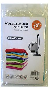 5er Set Vakuumbeutel Kleidung 60x40 Kleidersack Vakuum Kleiderbeutel