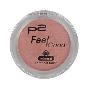 P2 Make-up Teint Rouge Feel Good Mineral Compact Blush 833431, Farbe: 032 softly pink, 5 g