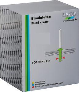 HEYCO Blindnieten 3,2 mm 500 Stück