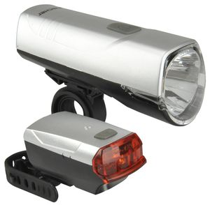 Fischer Batterie LED-Beleuchtungsset 20/10lux + Batterien und Halter