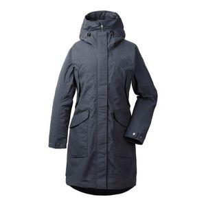 Didriksons Agnes Women's Coat 3 navy dust - Regenmantel, Größe_Bekleidung_NR:44, Didriksons_Farbe:navy dust