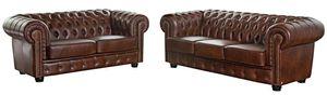 Max Winzer Norwin Sofa 3-Sitzer - Farbe: braun - Maße: 200 cm x 98 cm x 74 cm; 2909-3100-9342001-F07