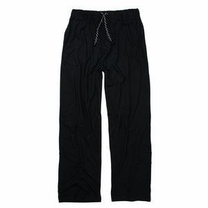 Schlafanzughose lang für Herren von ADAMO in Übergrößen XXL-10XL und in Langgrößen 98-122, Größe:8XL, Farbe:Schwarz