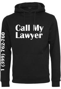 Mister Tee Herren Call My Lawyer Hoody MT991, size:XL, color:black