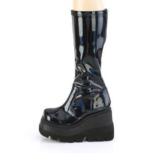 Demonia SHAKER-65 Stretch Stiefel schwarz, Größe:EU-38 / US-8 / UK-5