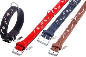 Buffalo Noble Halsband, Farbe:schwarz-schwarz; Länge x Breite:50 cm x 35 mm