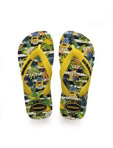 havaianas Minions Flips Kids White/Citrus Yellow Schuhgröße EU 35-36 | Brazilian 33-34