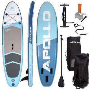 "Apollo SUP Board, SUP Komplettset Stand-up-Paddling Set ""Shark""  3 m"