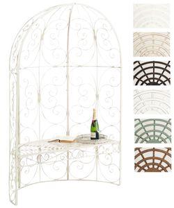 CLP Halbpavillon Rosie mit Sitzbank, Farbe:antik-creme