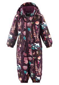 Reima - Schneeanzug für Babys - Reimatec - Puhuri - Tiefvioletter Wald, 80