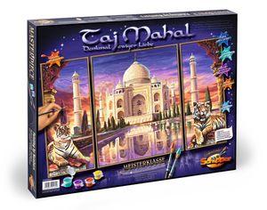 Noris Spiele Malen nach Zahlen - Taj Mahal-Denkmal der Liebe(Tript); 609260435