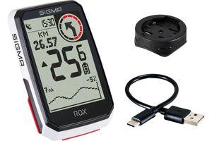 Sigma Sport ROX 4.0 GPS-Fahrradcmputer White
