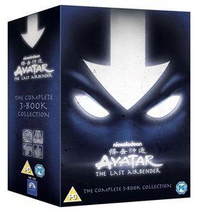 Avatar 1-3 Dvd  Box Herr Der Elemente Buch 1 2 3 Feuer Wasser Erde