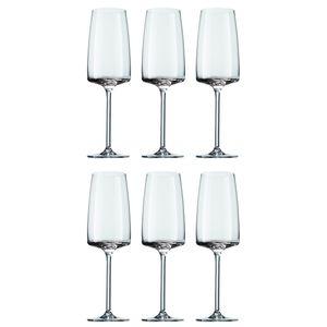 Schott Zwiesel 120591 Sensa Champagner / Sektkelch, 388 ml, Kristallglas, klar (6 Stück)