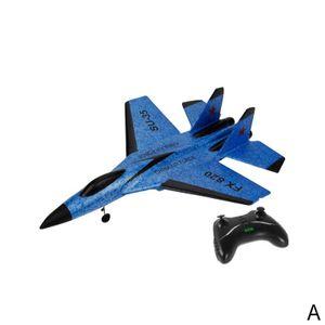 Flugzeug Form Schaum Fest-flš¹gel Elektrische Fernbedienung-Gesteuert Segelflugzeug Ersetzt Batterie Fernbedienung FX-820 2,4G 2CH SU-35