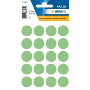 HERMA Markierungspunkte Durchmesser: 19 mm grün 100 Stück