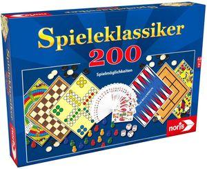 Noris 606112583 - Spielesammlung mit 200 Spielmöglichkeiten 4000826016878