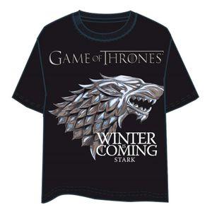 Game of Thrones - Tshirt, 'Logo' Haus Stark Gr.S