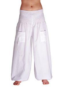 Pocket Pumphose für Herren und Damen in Einheitsgröße aus Baumwolle mit Taschen
