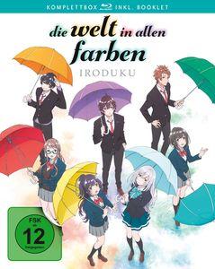 Welt in allen Farben - Iroduku BOX (BR) Iroduku Komplettbox, 2Disc - LEONINE Anime  - (Blu-ray Video / Anime)
