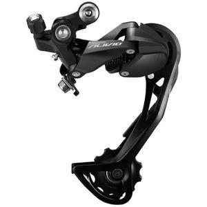 Shimano Alivio RD-M3100 SGS Schaltwerk 9-fach Schaltwerk Fahrrad 9 Gänge Mountainbike, Ausführung:langer Käfig