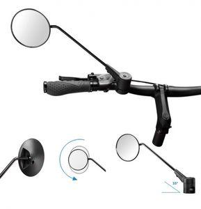Fahrradspiegel Krampe KF1 35° große Außenklemmung schwarz
