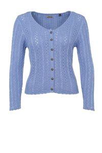 Stockerpoint - Damen Trachten Strickjacke, Liz, Größe:46, Farbe:Hellblau
