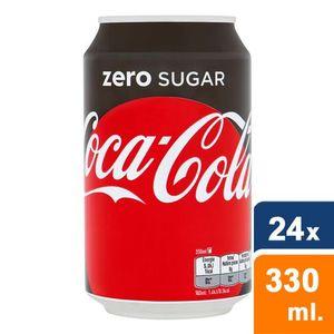 Coca Cola Zero - 24 x 330ml