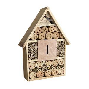 Insektenhotel 280x90x400mm Bienenhotel Nistkasten Insektenhaus naturbelassen