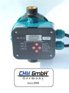 CHM GmbH® Digitale autom. Pumpensteuerung, Druckschalter für Pumpen bis 2,2 Kw