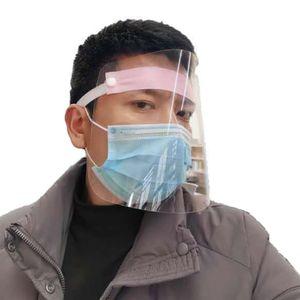 Gesichtsschutz Protector Guard Sicherheitsmaske Vollgesichtsschutzmaske Shield Plastic Random Color