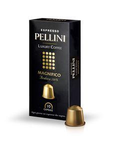 Pellini Luxury Coffee Magnifico Espresso | 10 Nespresso® komp. Kapseln