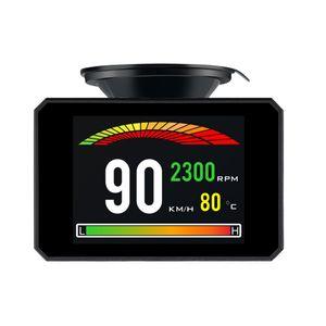 P16 Head Up Display Smart  HUD Auto Digital Meter Port Warnalarmsystem