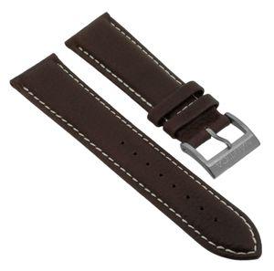 Nautica Herren Chronograph Uhrenarmband 22mm braunes Leder A16694GS