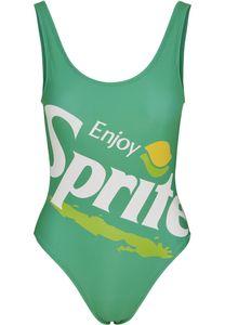 Merchcode Badeanzug Ladies Sprite Logo Swimsuit Green-M