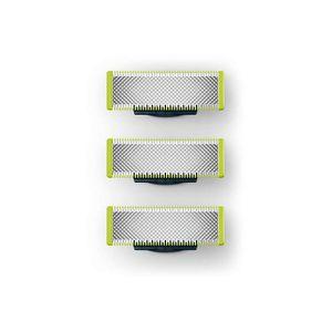 Philips QP230/50 OneBlade Ersatzklingen 3 Stück, Farbe:Silber