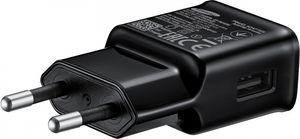 Samsung - EP-TA20EBE - USB Ladegerät + USB Typ C Ladekabel - Schwarz