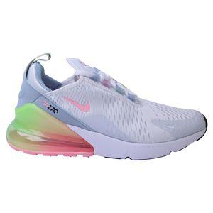 Nike Air Max 270 SE (GS) Sneaker Kinder Weiß/Hellblau/Pink (DD4459 100) Größe: 38,5