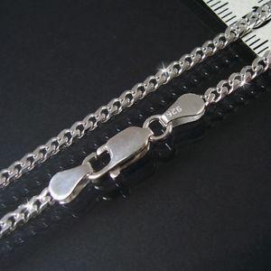 Silberkette Kette Panzerkette 925 Silber 2,8mm Niklarson 55cm 13528-55