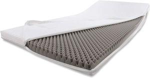 Alanpur® Massage: Kaltschaummatratze (60 x 190 cm) Rollmatratze Matratzenerhöhung Matratzenverstärkung Topper