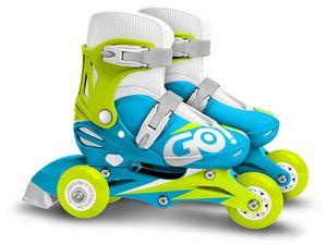Skids Control verstellbare Inline-Skates Jungen blau Größe 27-30