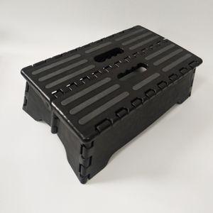 Tragbarer Klappbarer Kunststoff Tritthocker, Rutschfest Für Step Boost Im Innen  Und Außenbereich