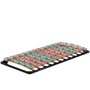 i-flair - Lattenrost 100x200 cm, Tellerlattenrost FLOWER Ergo IF57 - für alle Matratzen geeignet